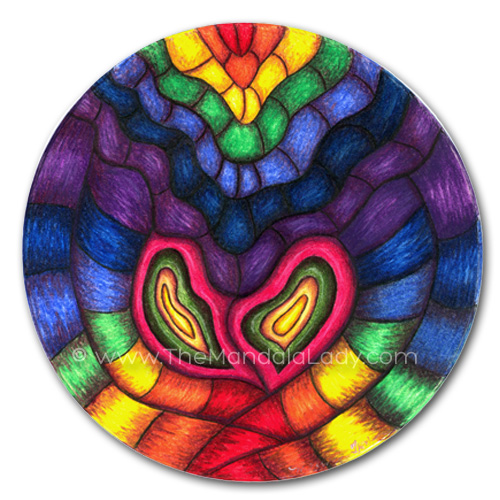 Heart Vibrations Mandala