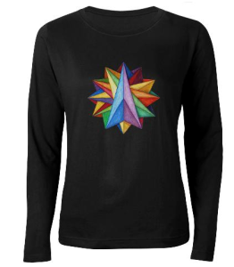 Crystatlite Mandala on T-Shirt