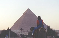 Me in Egypt at the Pyramids